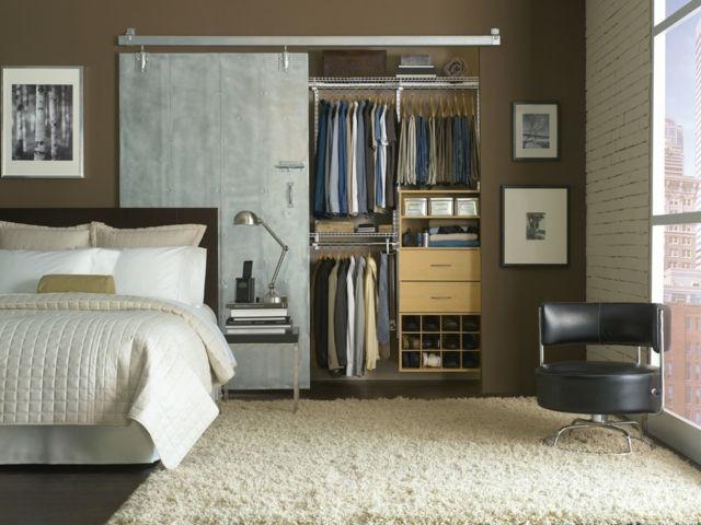 Begehbarer Kleiderschrank selber bauen \u2013 50 Schlafzimmer mit