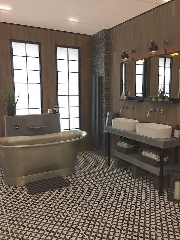 Show Homes At The Ideal Home Show 2018 | #bathroom #bathroomdesign  #rusticindstrial