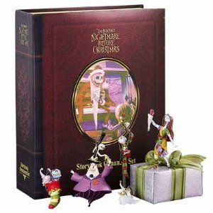 Nightmare Before Christmas Storybook Ornament 5 Piece Set
