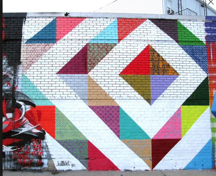 Welling Court Mural Queens, NY 2013 by Hellbent