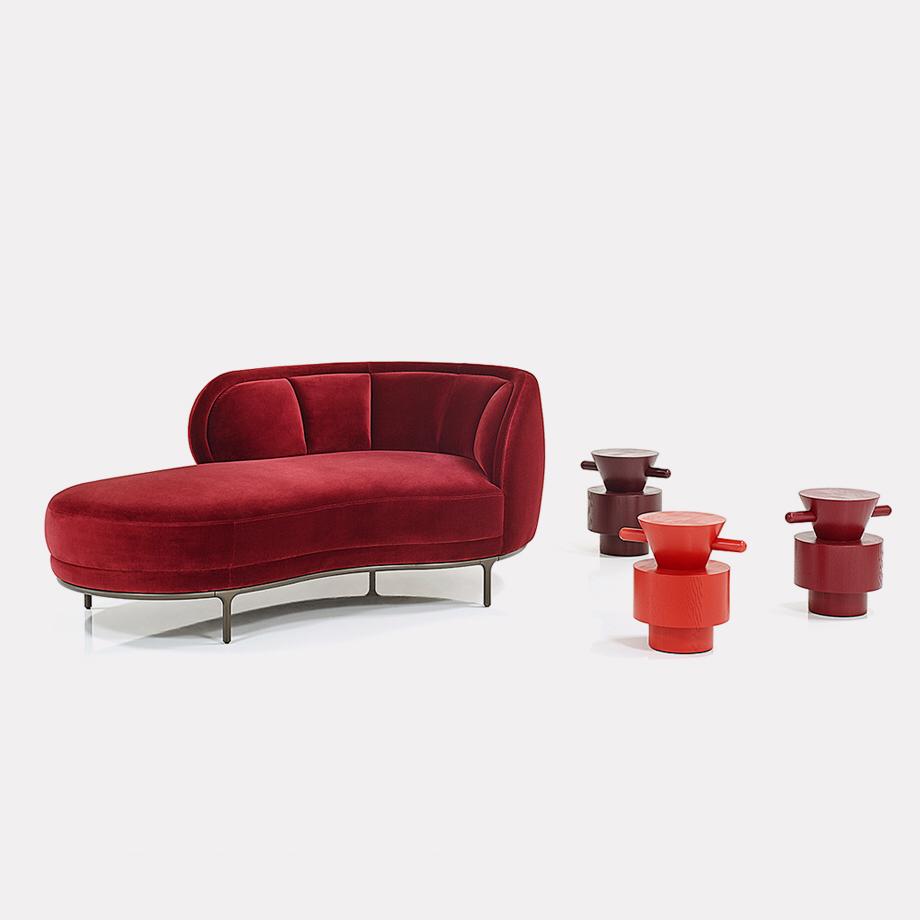 Wittmann Chaiselongue Furniture Kopfteile