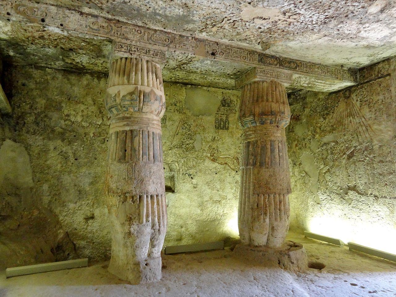 Imagenes De Egipto Grab Des Panehsi Ta 6 In Tell El