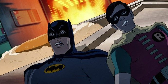 Batman Return of the Caped Crusader Batman and Robin Batman: Return Of The Caped Crusaders Promo   Things Are Heating Up