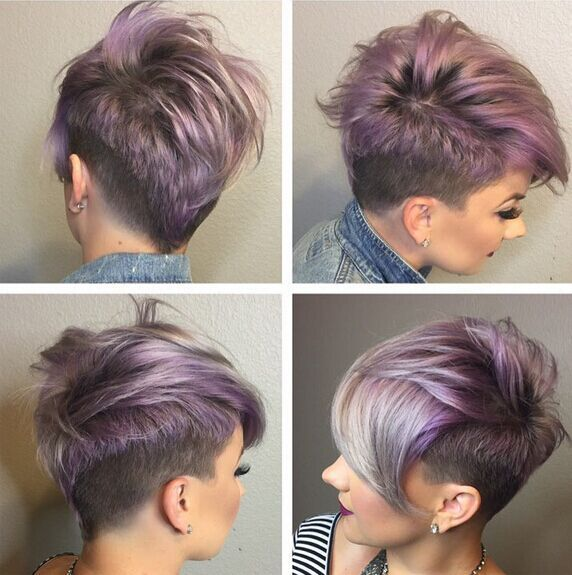 Short Shaved Haircut For Bangs Straight Hairstyles 2016