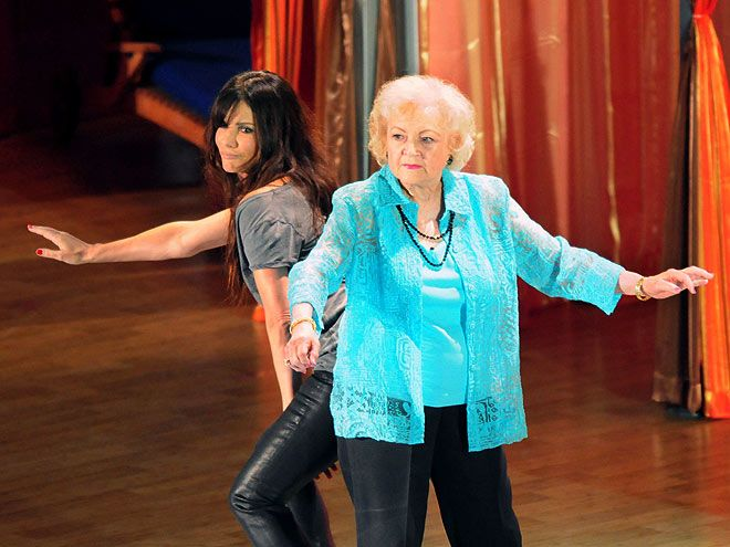 Sandra Bullock And Betty White If The Music Is Good You Dance