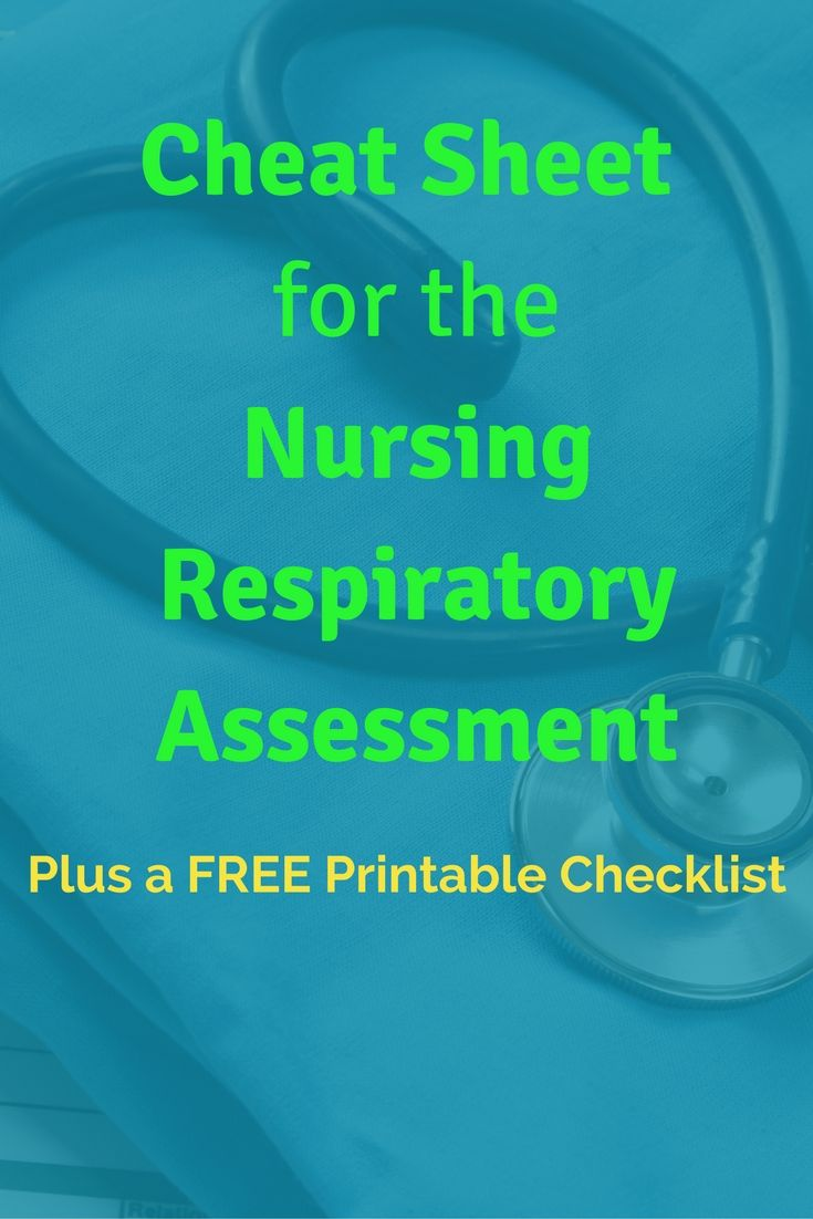 Your Ultimate Guide To The Nursing Respiratory Assessment A Free