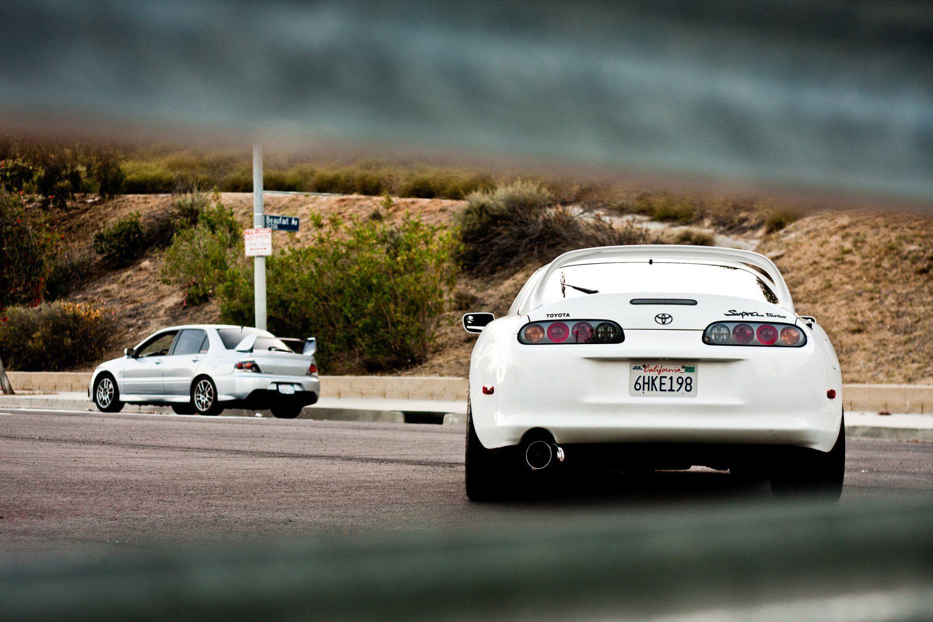 17 beste ideer om White Supra p Pinterest  Toyota supra Nissan