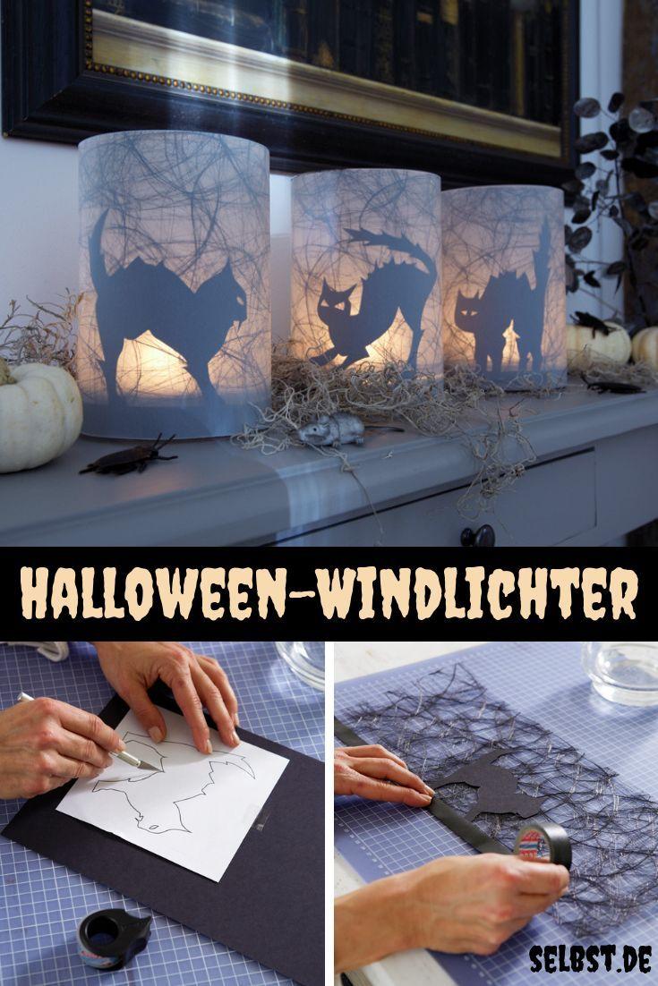 Halloween-Windlicht | selbst.de