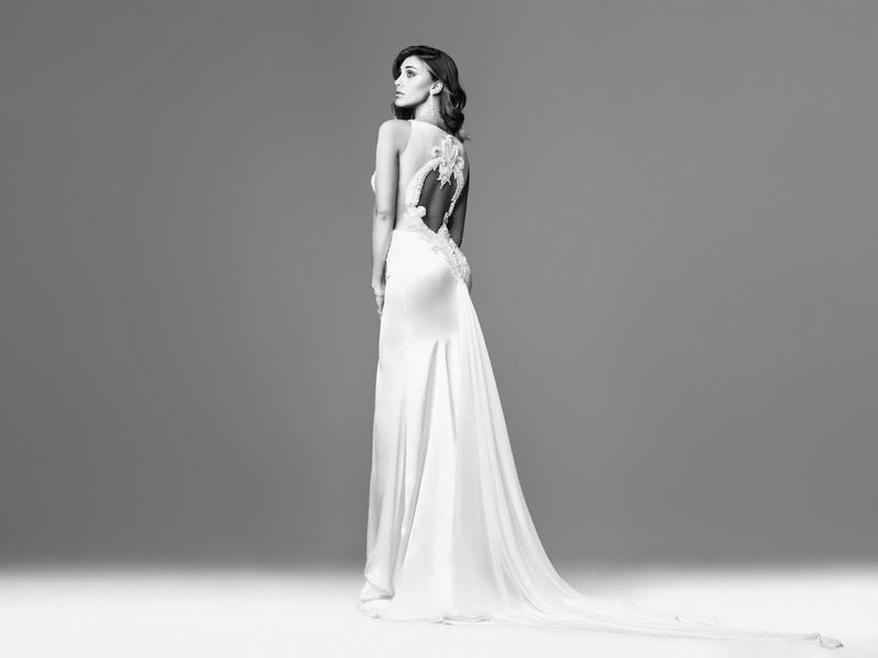 2a94f5392d07 La collezione Vanitas di abiti da sposa con testimonial Belen Rodriguez e  Stefano De Martino