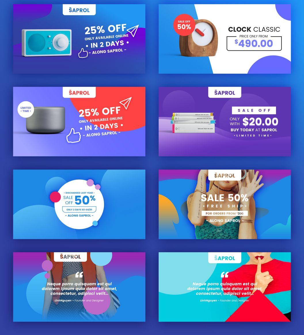 Ui8 Products Saprol Social Media Kit Desain