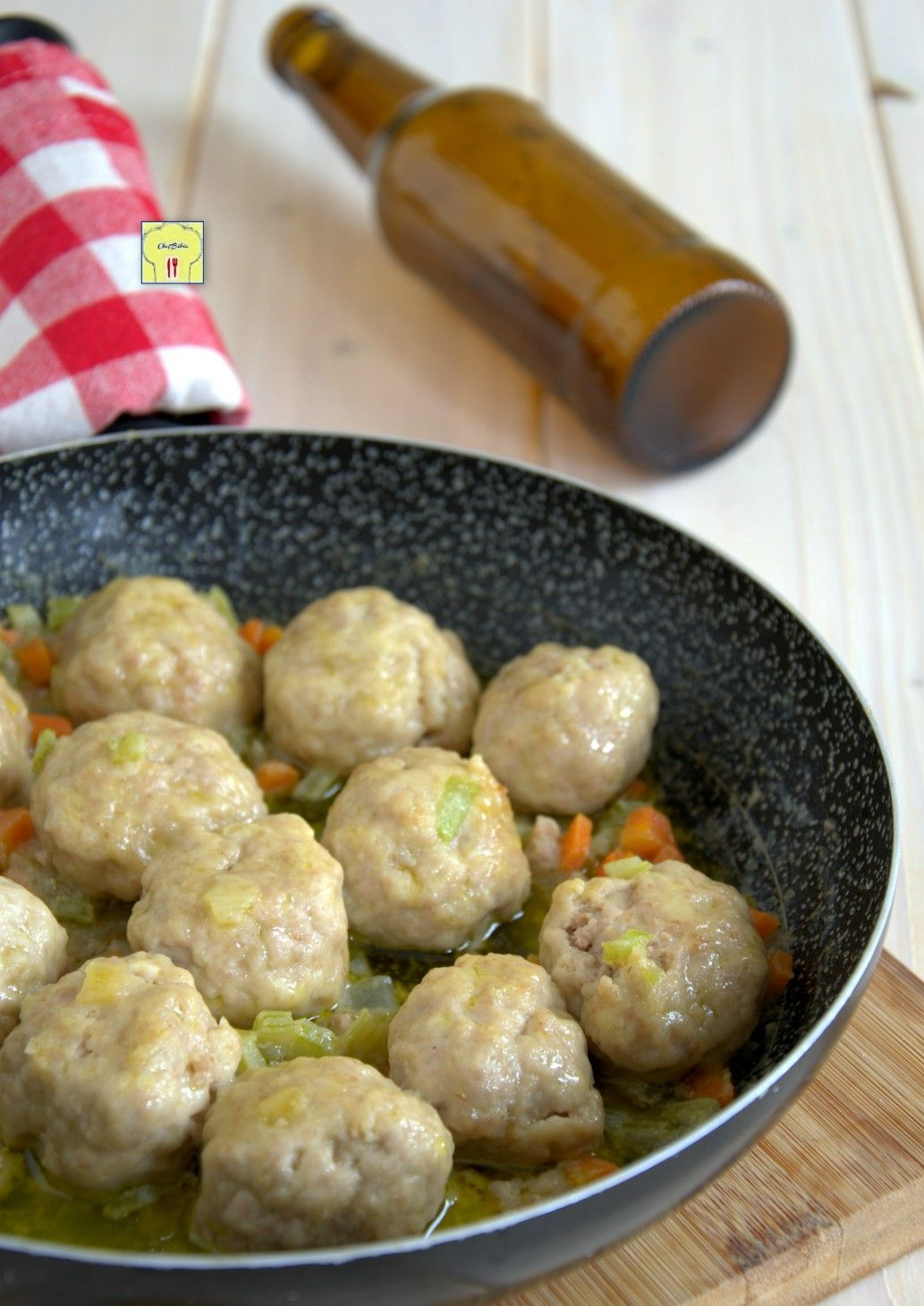 Photo of Meatballs with beer, soft, tasty, easy and irresistible …