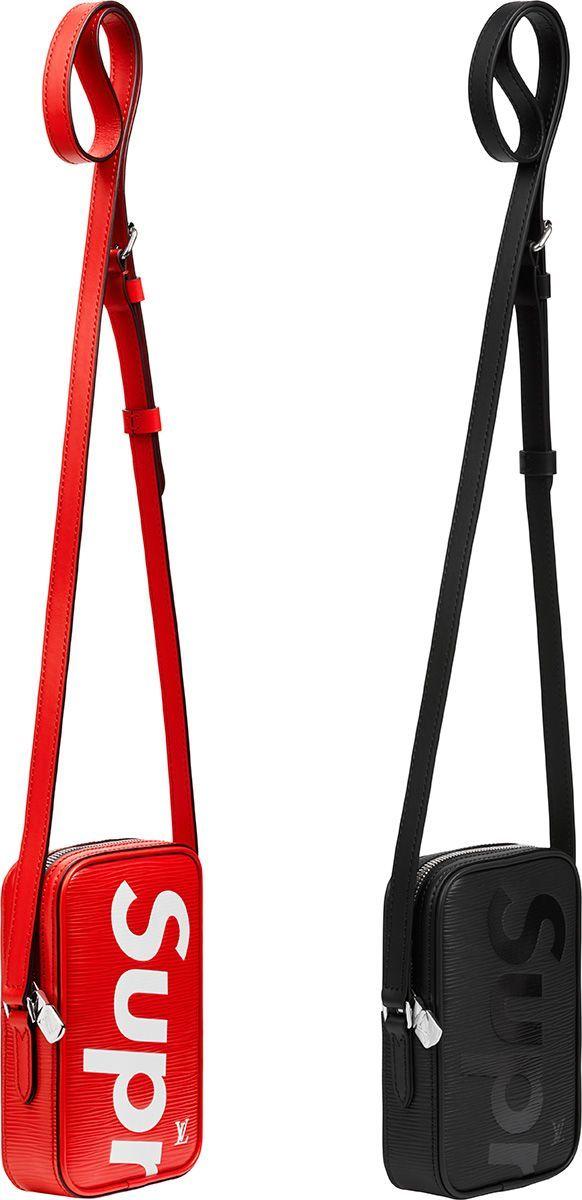 7d131ac34 Supreme X Louis Vuitton Bag.   bolsas   Bolsos para hombre, Bolsos ...