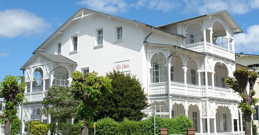 Villa Iduna, Ostseebad Binz, Insel Rügen, north germany