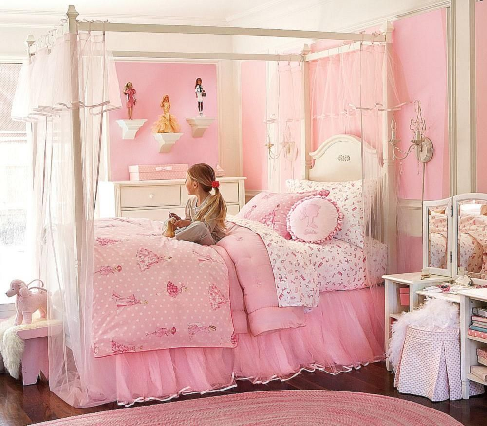 bedroom the nice design of paint colorfor girl bedroom with pink wall also pink quilt