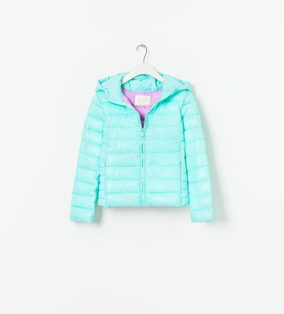 QUILTED JACKET - Coats - Girl (2 - 14 years) - Kids | ZARA United Kingdom