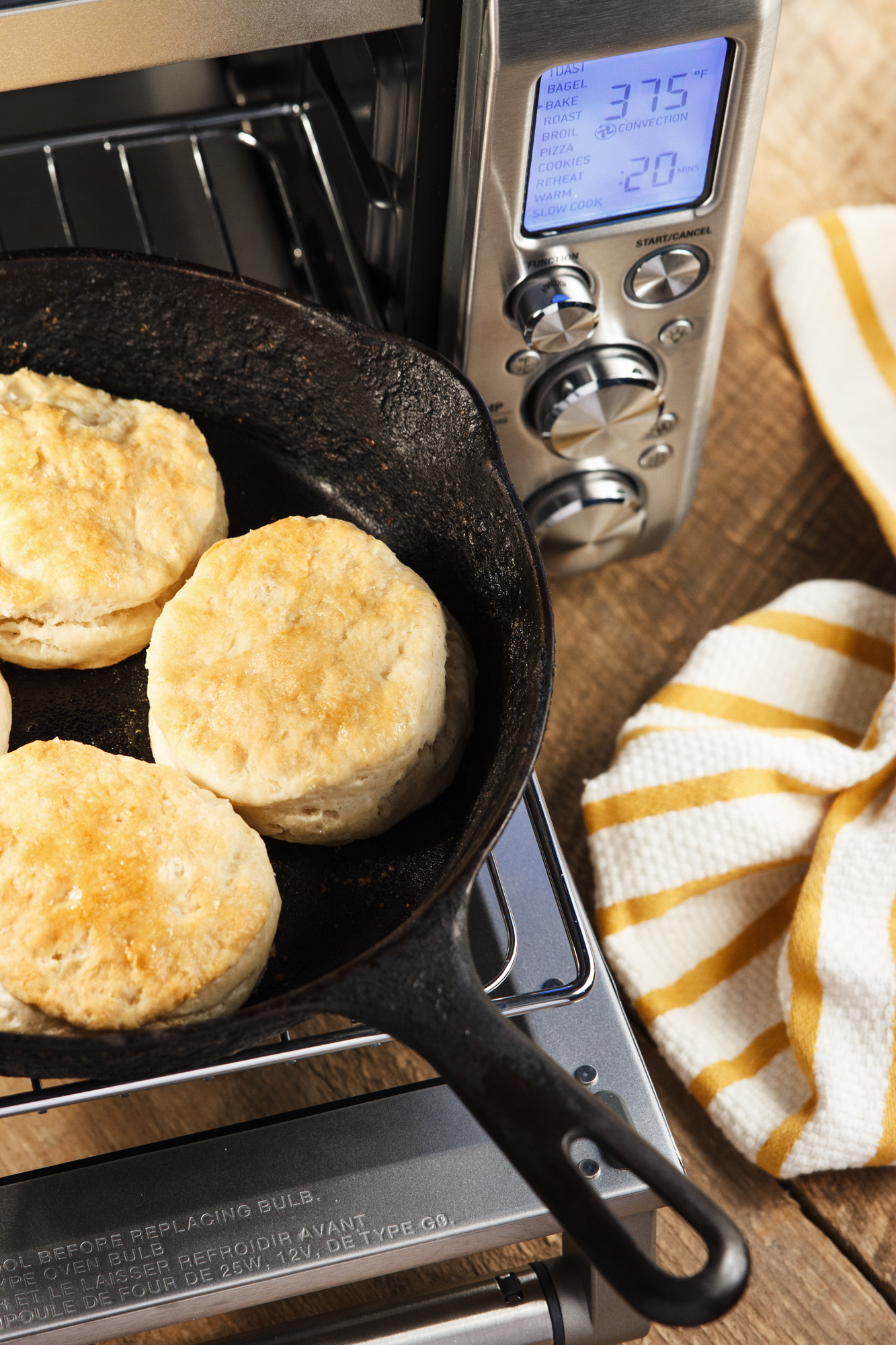 Classic Holiday Recipe Buttermilk Biscuits Made With The