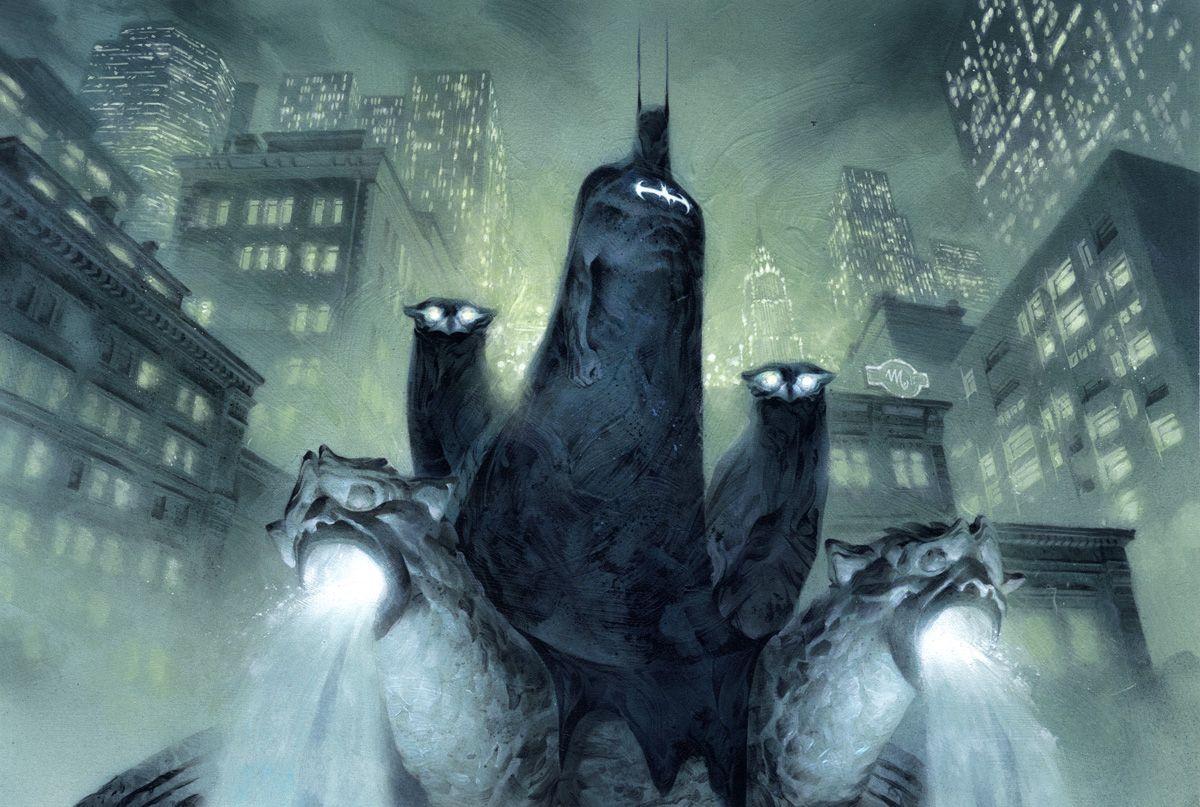 Batman by Mickael Bourgouin