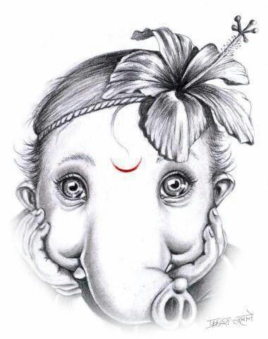 06fcfc41c98df3f0e72991fd9a6447c9 jpg 380x480 · ganesha drawingganesha art lord
