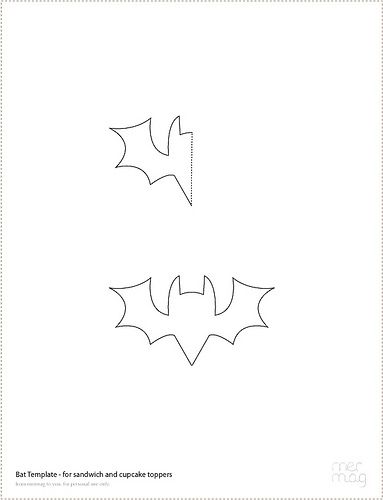 MerMag Bat TopperTemplate
