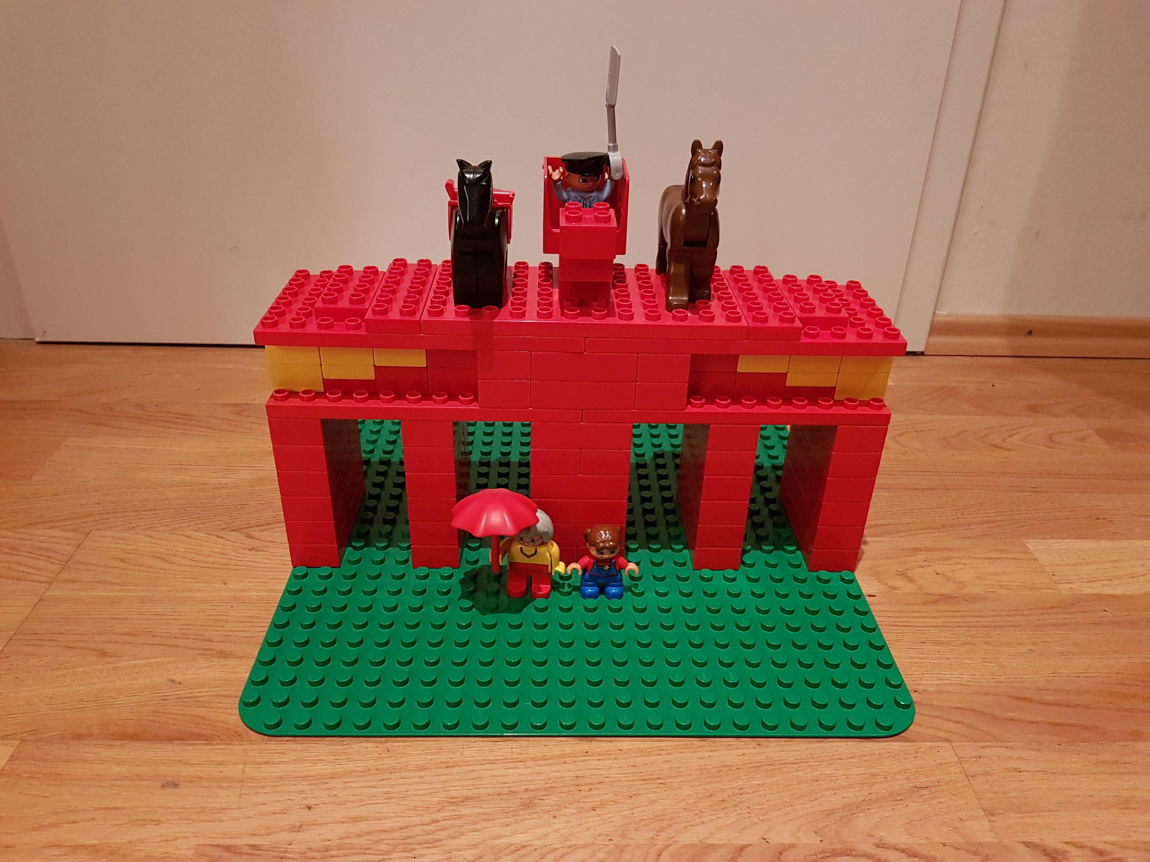 Lego Duplo Brandenburger Tor Lego Duplo Lego Bauideen