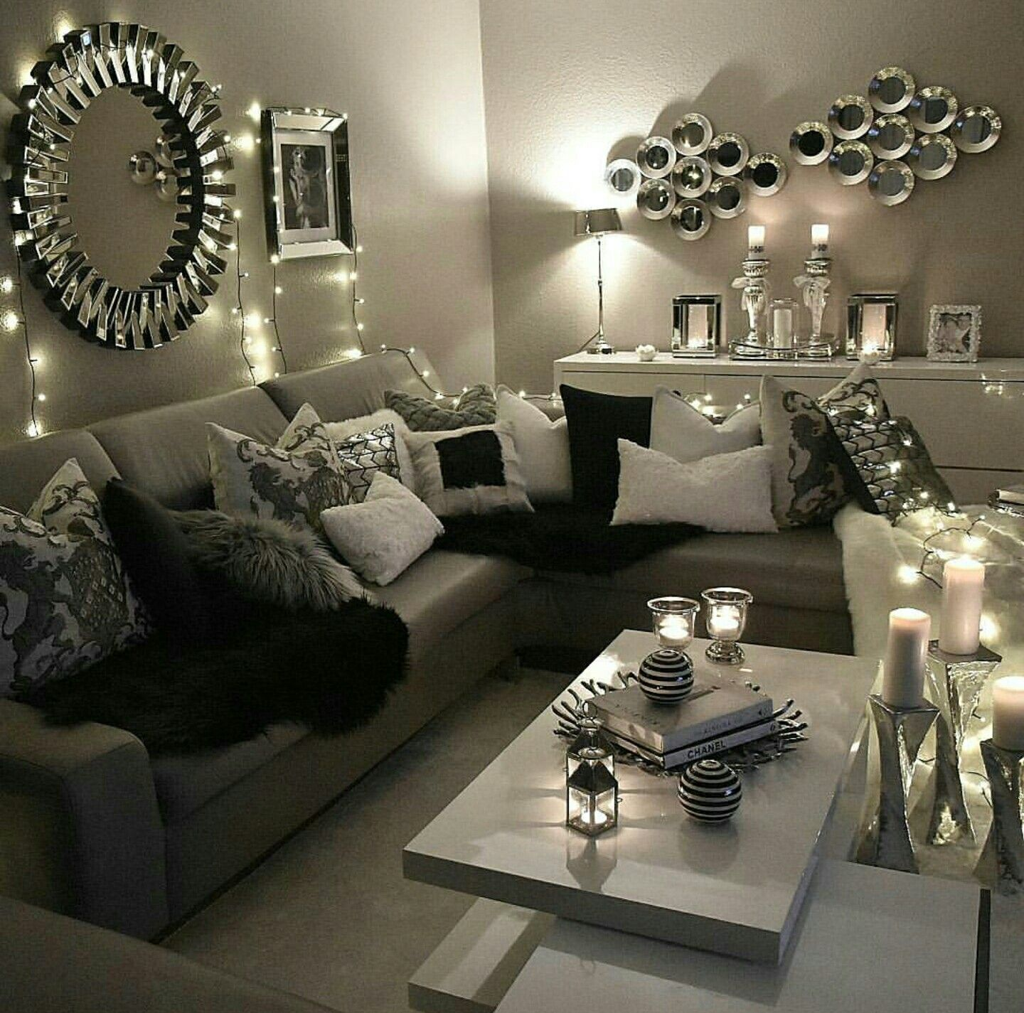 Pin de yanda baby en Living Room Glam | Pinterest | Decoraciones ...