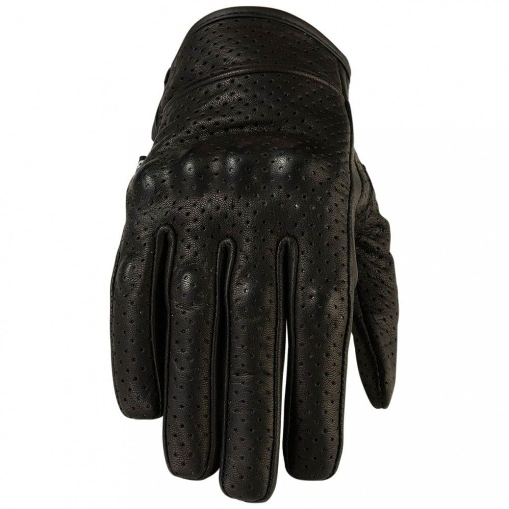 Womens leather motorcycle riding gloves -