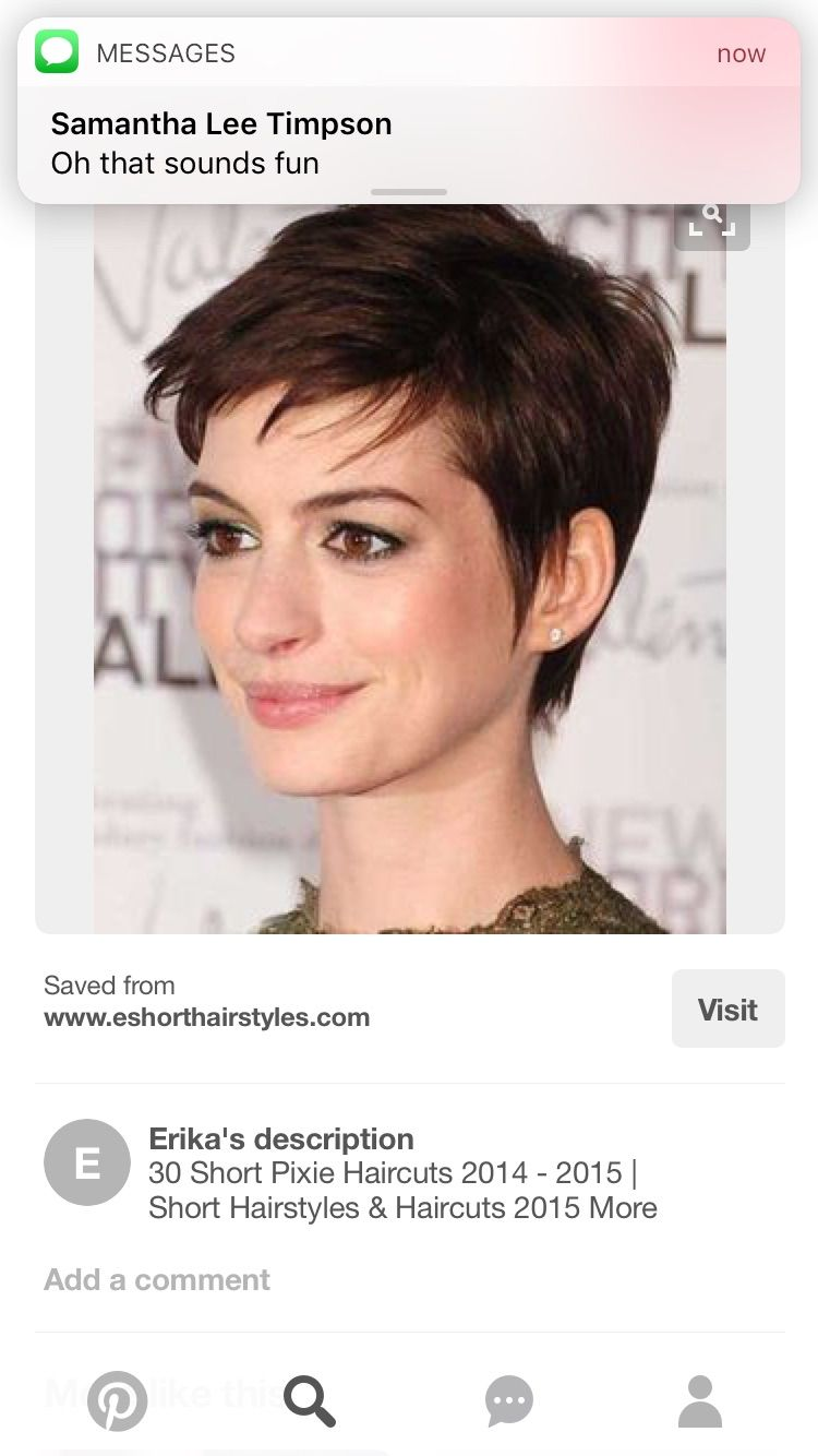 Pin by brenda perez on hair cut pinterest short hair pixies and