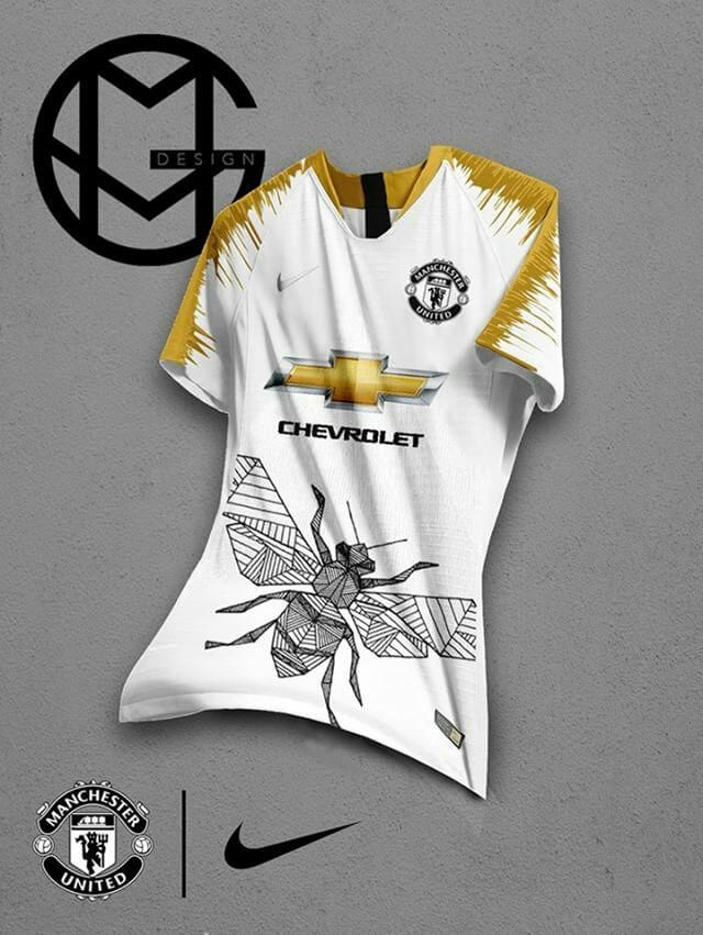 Crazy Nike Manchester United Home Away Third Kit Concepts By Gmvdesign Footy Headlines Manchester United Man United Kit Football Design