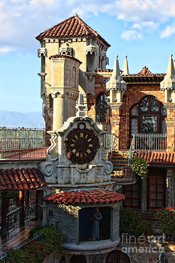 The Mission Inn Clock Tower THERE ARE LIFE SIZE FIGURES THAT MOVE AROUND ON THE HOUR . VERY NICE TO SEE