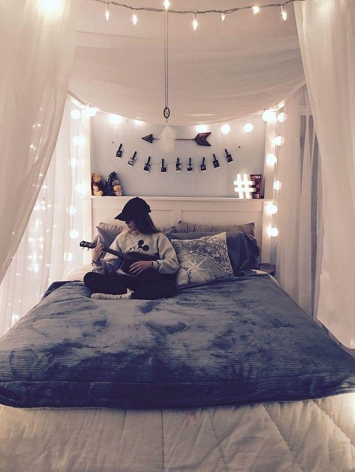 1001 id es pour r ussir la d co chambre tumblr - Idee deco chambre ado fille london ...
