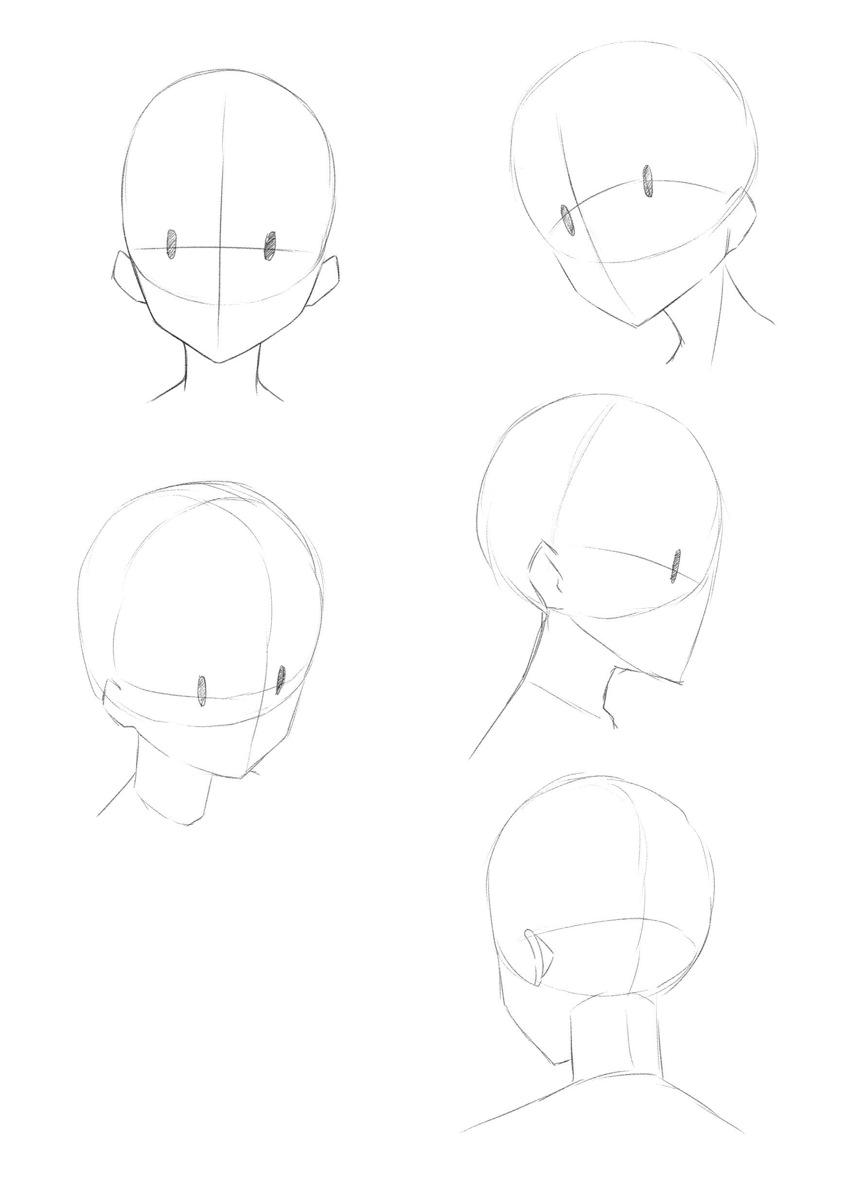 How To Draw Different Angles Of Face