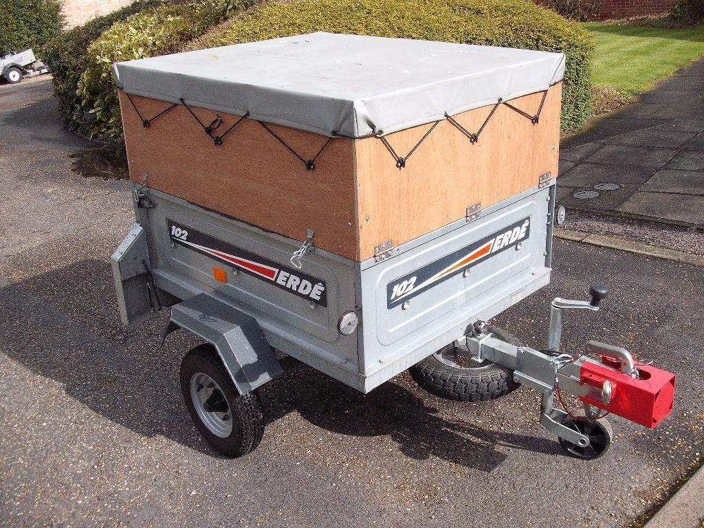 camping trailer erde 102 with top extension united kingdom gumtree car pinterest. Black Bedroom Furniture Sets. Home Design Ideas