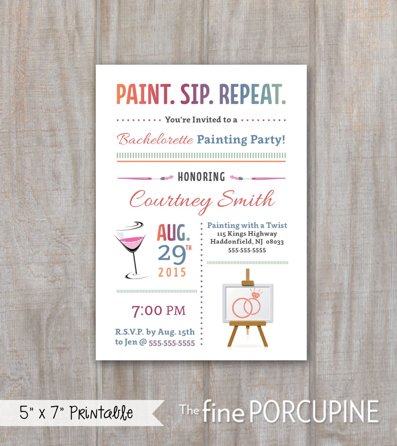 painting party invites wine and painting canvas party invites