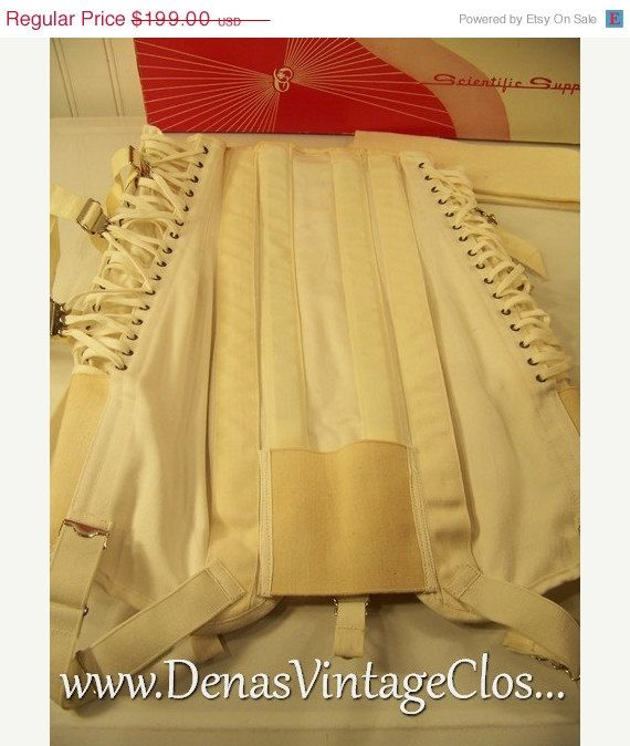 50% Winter Clearance Sale Vintage Camp Corset in Original Box with Tag Sz 32