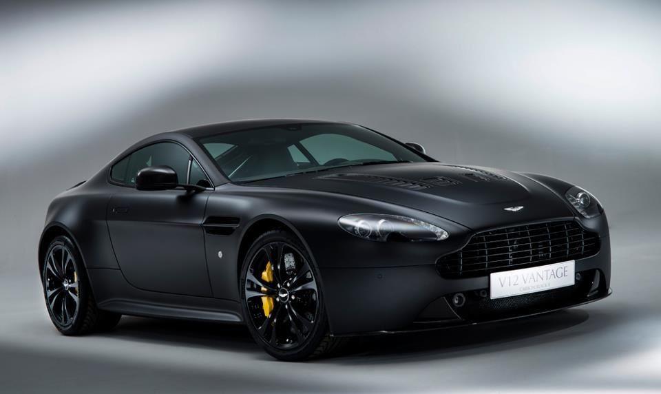 Satin Black Aston Martin V12 Vantage | Cars/Trucks/Motorcycles ...