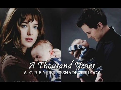 Fifty Shades Trilogy Christian And Ana A Thousand Years