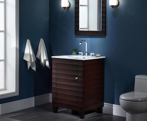 Xylem Wave Vanity Set V Wave 24de From Xylem Bathroom Vanity 24 Vanity Contemporary Bathroom Vanity