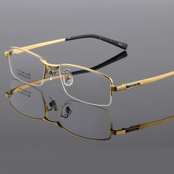 6064ea3d7fe2 Wooden Feet Mens Rimless Eyeglass Frames High End Business Optical Frame  Men Eyeglasses Gold Silver Color China Eye Glasses Eyewear Designer Glass  Frames ...