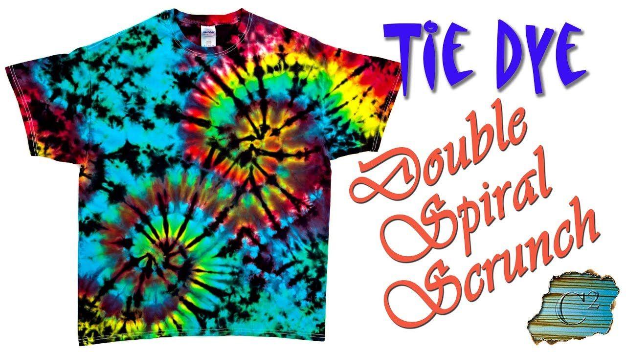 How To Tie Dye Double Spiral Scrunch Ice Dye Tie Dye Patterns Diy How To Tie Dye Tie Dye Patterns [ 720 x 1280 Pixel ]