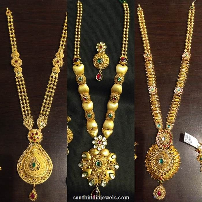 Latest Long Necklace Design Catalog | Catalog, Gold and Indian jewelry