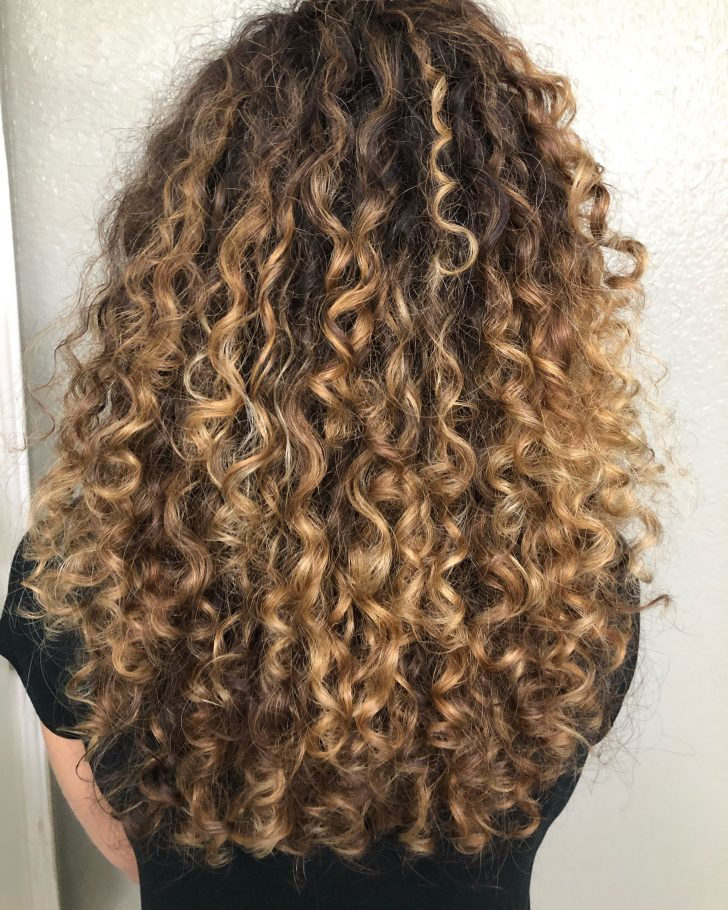 Source By Mellolo Brown Hair With Highlights Mellolo Source In 2020 Highlights Curly Hair Curly Hair Styles Naturally Hair Highlights