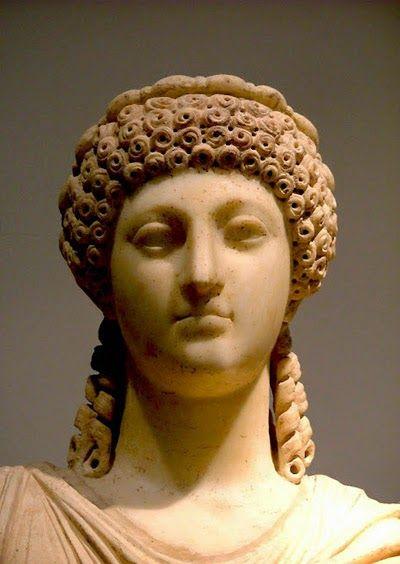 Poppea Sabina Moglie Di Nerone Acconciature Romane Romani Scultura Romana