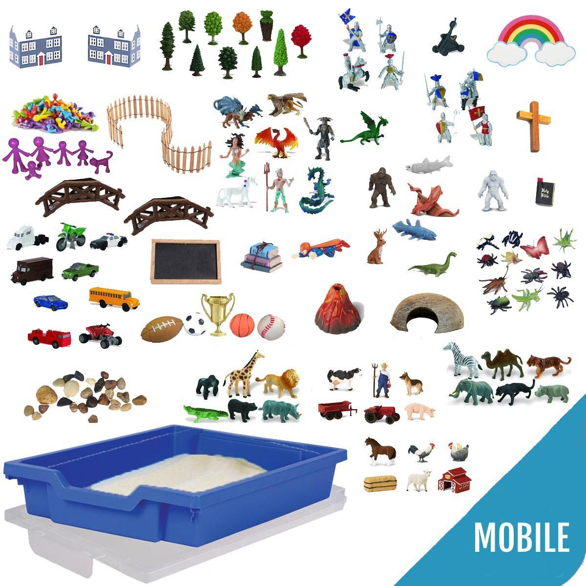 Deluxe Portable Sand Tray Starter Kit