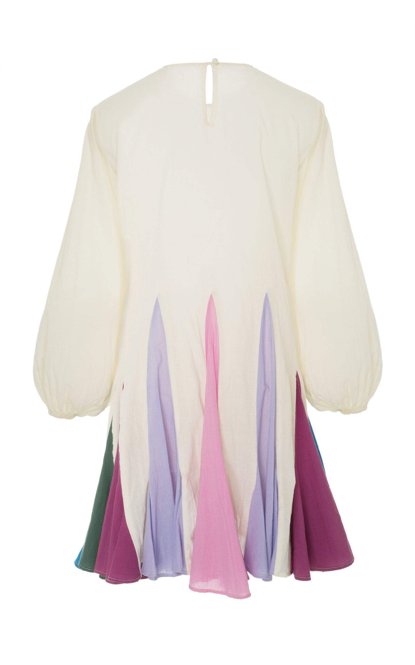 ebf9db20a Ella Belted Pleated Cotton Mini Dress by RHODE RESORT Now Available on Moda  Operandi