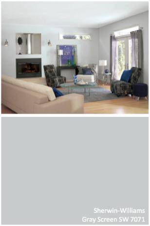 Sherwin Williams Gray Screen Sw 7571 Neutral Paint Light