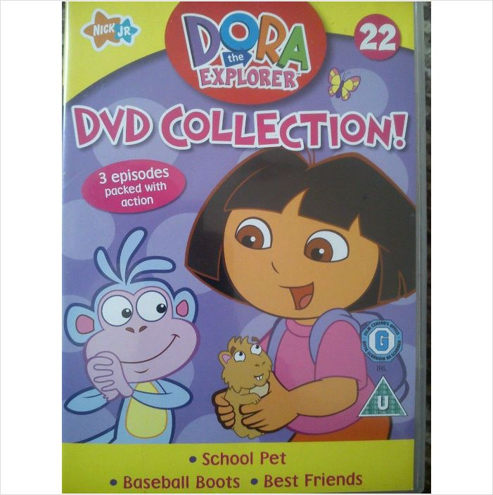 Dora The Explorer No 22 Dvd Collection 3 Episodes Packed With Action 2 99 Free Postage Dora Dora The Explorer Free Postage