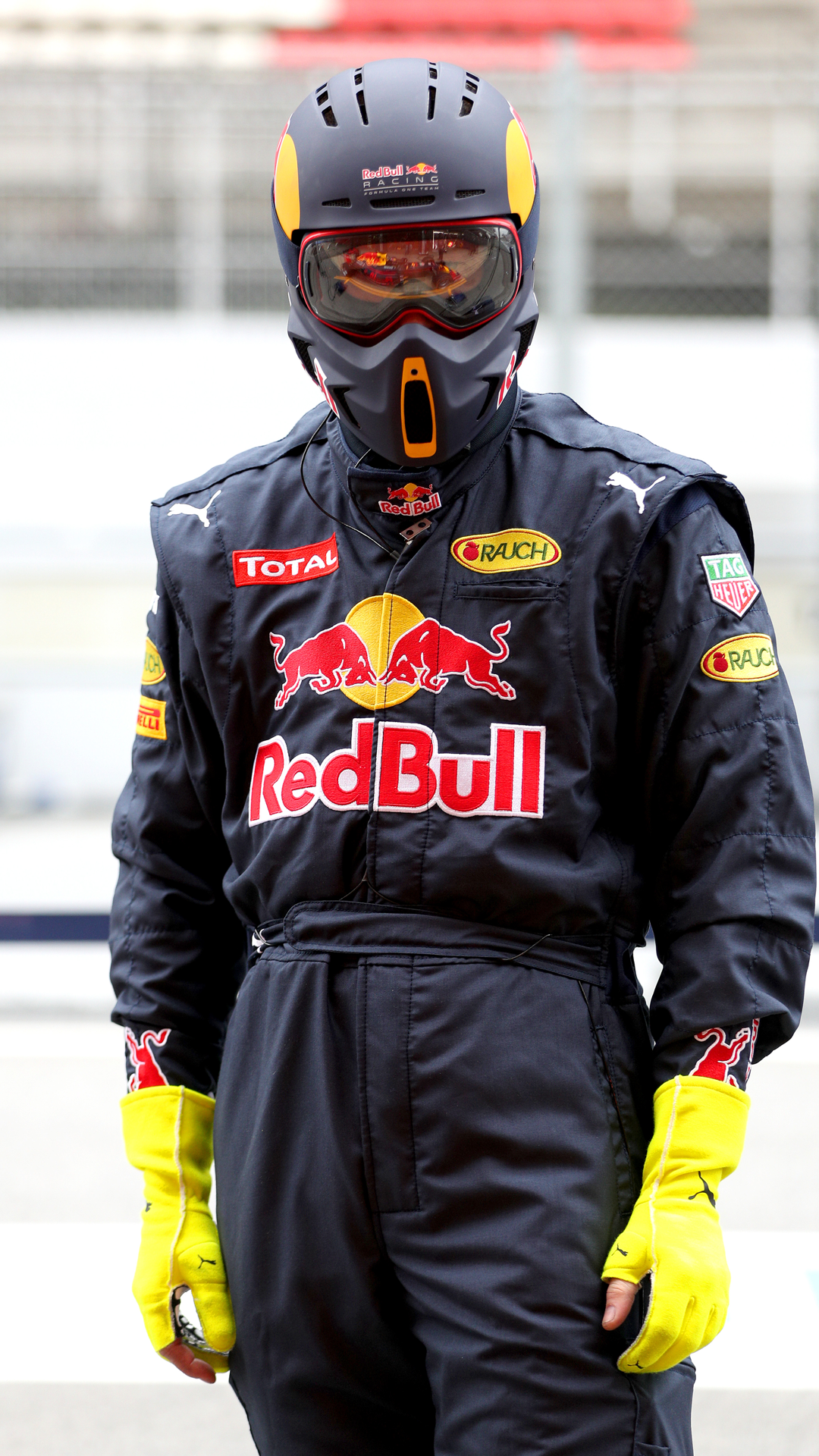 RED BULL Racing Formula One Team   Pit Crew Helmet on Behance  c6a24d9e57867