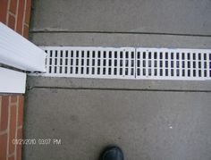 Photo By Robert Emery Downspout Drainage Gutter Drainage Diy House Renovations