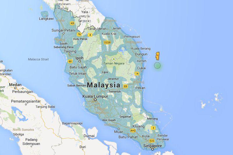 Google Maps Street View Coverage Area | Google Maps | Maps ...