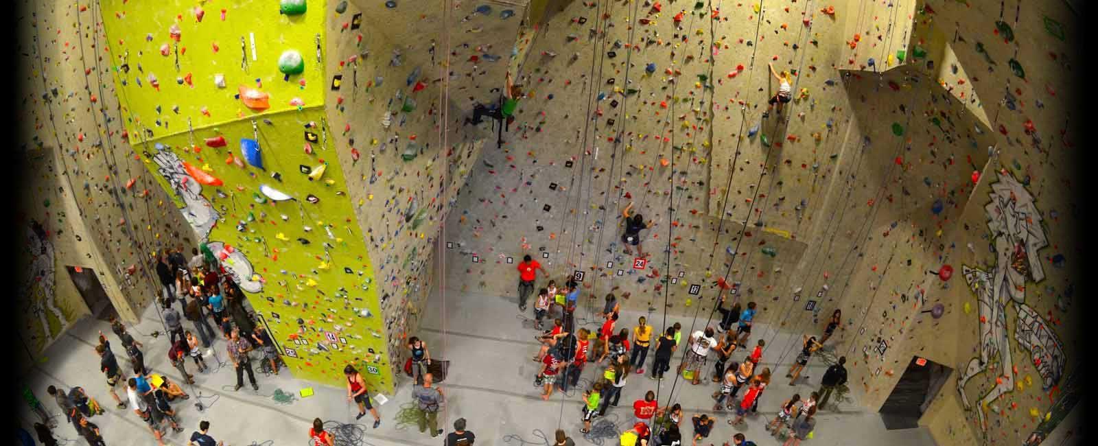 Indoor Climbing Gym, Colorado